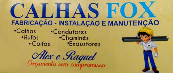 Logo Calhas Fox